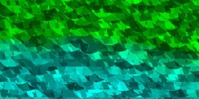 Light Green vector texture with triangular style.