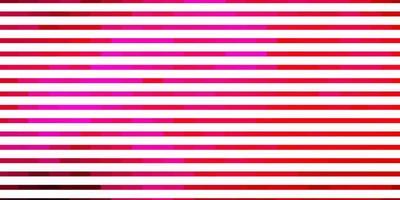 diseño de vector rosa claro con líneas.