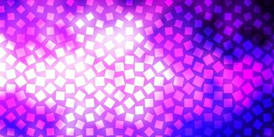 Dark Purple, Pink vector pattern in square style.