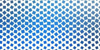 Light BLUE vector texture in rectangular style.
