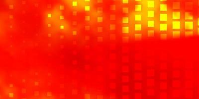Light Orange vector layout with lines, rectangles
