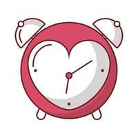 feliz dia de san valentin despertador con corazon