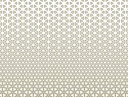 Triangle halftone geometric design vector