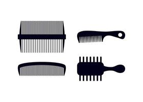 Comb icon design template vector isolated illustration