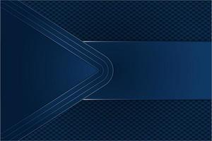 Blue metal background with hexagon vector