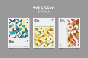 Retro Cover Poster for Business vector