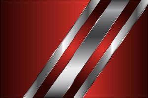 fondo de metal rojo vector