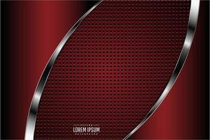 Dark red metallic background vector