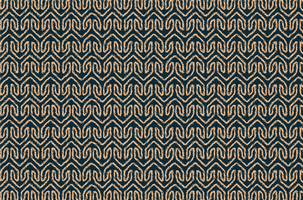 Tribal geometric fabric pattern