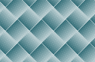 Blue green fabric pattern vector