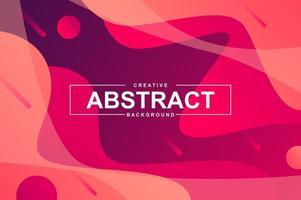 Diseño de fondo abstracto con formas líquidas dinámicas. vector
