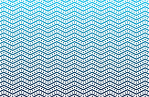 Seamless zigzag wave pattern vector