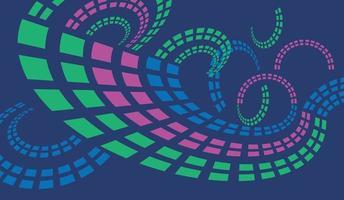 Spiral technology motion shapes background backdrop vector