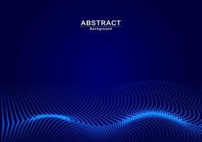 abstract background dark blue dot full vector