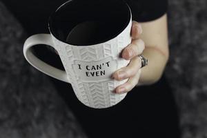 I Can't Even ceramic mug