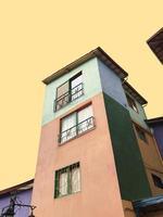 Colorful Concrete Houses