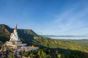 Monument at Wat Phra That Pha Son Kaeo