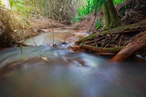 Stream in the forest in Thailand