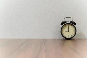 Alarm clock on the desk