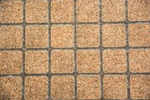 Brown brick flooring