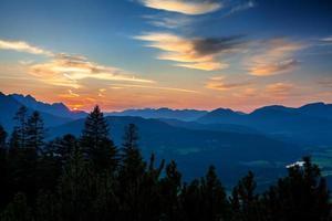 Panorama of Karwendel Mountains