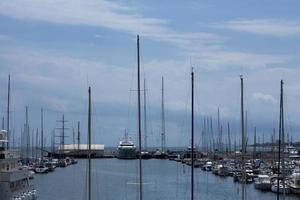 Barcelona, Mataro Port in 2020
