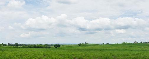 Panoramic landscape in Thailand photo