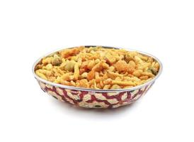 Indian snack in a bowl
