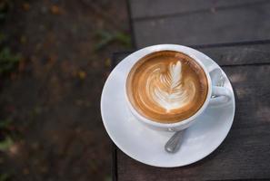 café con leche foto