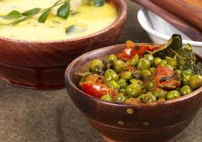 Fresh peas vegetable