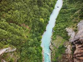 River Tara in Montenegri