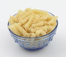 Fresh and healthy raw pasta