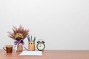 Desk in the office