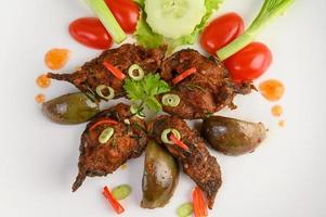 Spicy fried catfish