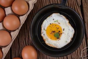 Fried egg breakfast