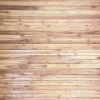 Wall made from horizontal wooden unpainted planks