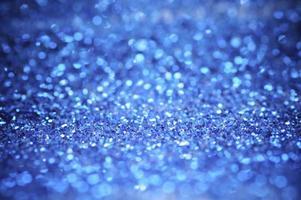 bokeh brillo azul