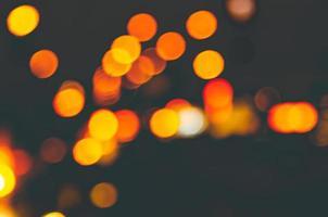 bokeh de luz borrosa abstracta