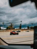 California, 2020 - Red and black f-1 car on road during daytime