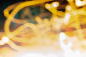 luces de linea amarilla