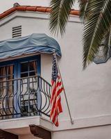 Newport Beach, CA, 2020 - White and brown concrete house