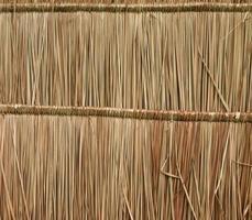 Close up straw background