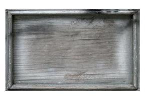 tablero de madera en blanco foto