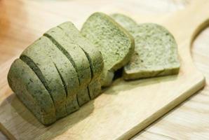 Green tea loaf photo