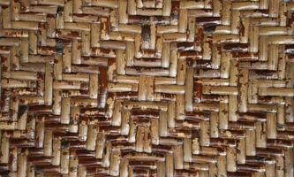 pared de bambú de arte abstracto, papel pintado