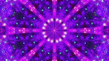 Abstract kalaidoscope mandala 3d illustration background wallpaper