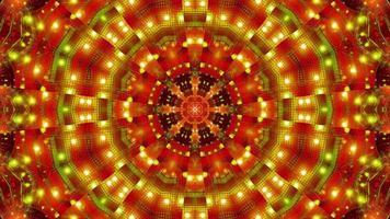 verde rojo parpadeante kalaidoscopio 3d ilustración fondo de pantalla