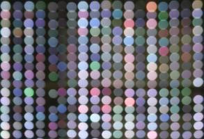 luces de colores desenfocadas