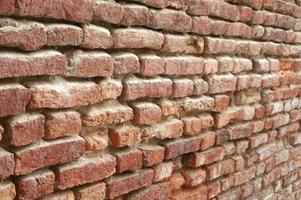 Rustic red brick