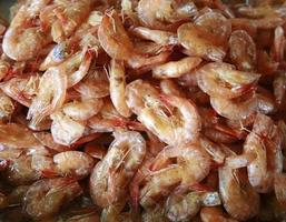 Dry sweet shrimp